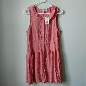 *NWT* Forever 21 Blush Pink Peter Pan Collar Dress